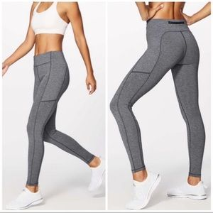 LULULEMON Speed Tight Leggings Pockets